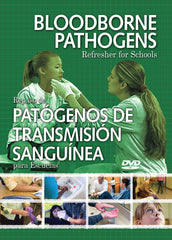 Bloodborne Pathogens Refresher For Schools (DVD) (Spanish)