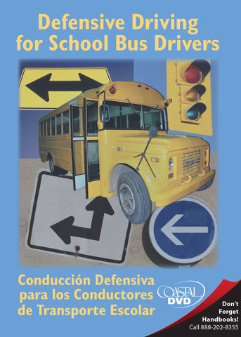 Defensive Driving For School Bus Drivers (DVD) (Spanish)