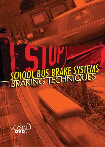 School Bus Brake Systems: Braking Techniques (DVD) (Spanish)