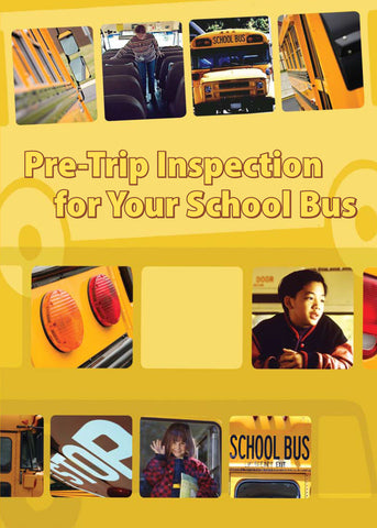 Pre-Trip Inspection for Your School Bus (DVD) (English)