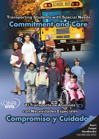 Transporting Students with Special Needs: Commitment & Care (DVD) (Spanish)