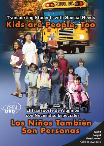 Transporting Students with Special Needs: Kids Are People Too (DVD) (Spanish)