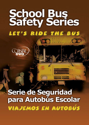 School Bus Safety Series Vol. 1-4 (DVD) (Spanish)