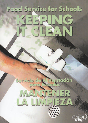 Food Service For Schools: Keeping It Clean (DVD) (Spanish)