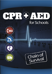 CPR & AED for Schools: Chain of Survival (DVD) (English)