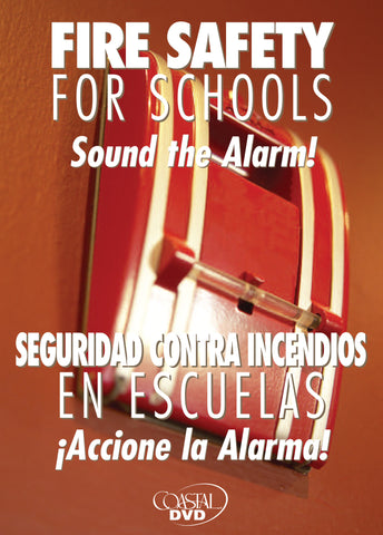 Fire Safety For Schools: Sound The Alarm (DVD) (English)