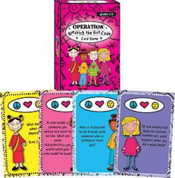 Operation Breaking the Girl Code Card Game by Dr. Poppy Moon and Cathy Wooldridge