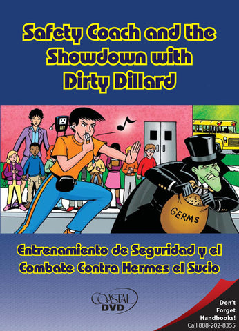 Safety Coach and the Showdown with Dirty Dillard (DVD) (English)