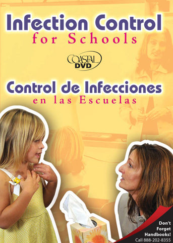 Infection Control For Schools (DVD) (Spanish)
