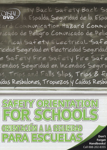 Safety Orientation For Schools (DVD) (Spanish)