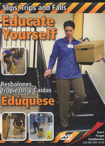 Slips, Trips And Falls: Educate Yourself (DVD) (English)
