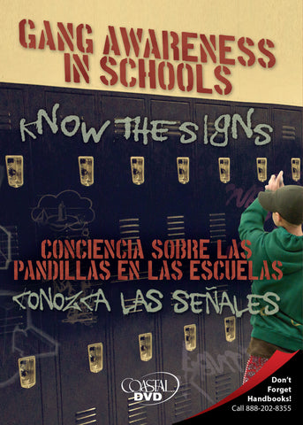 Gang Awareness In Schools: Know The Signs (DVD) (Spanish)