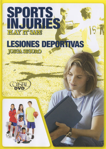 Sports Injuries: Play It Safe (DVD) (Spanish)