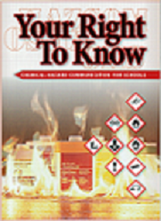 Your Right To Know: Chemical Hazard Communication For Schools (DVD) English
