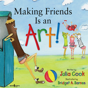 Making Friends is an Art by Julia Cook