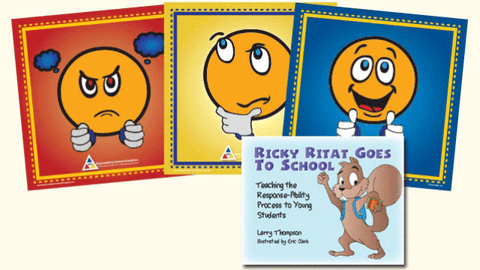 Response-Ability Mats and Ricky Ritat Goes to School by Larry Thompson and Angela Thompson