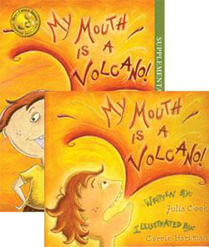 My Mouth is a Volcano Storybook and Activity Book by Julia Cook