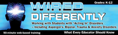 "Wired Differently: Working with Students with ""Acting-In"" Disorders Webinar - DVD"