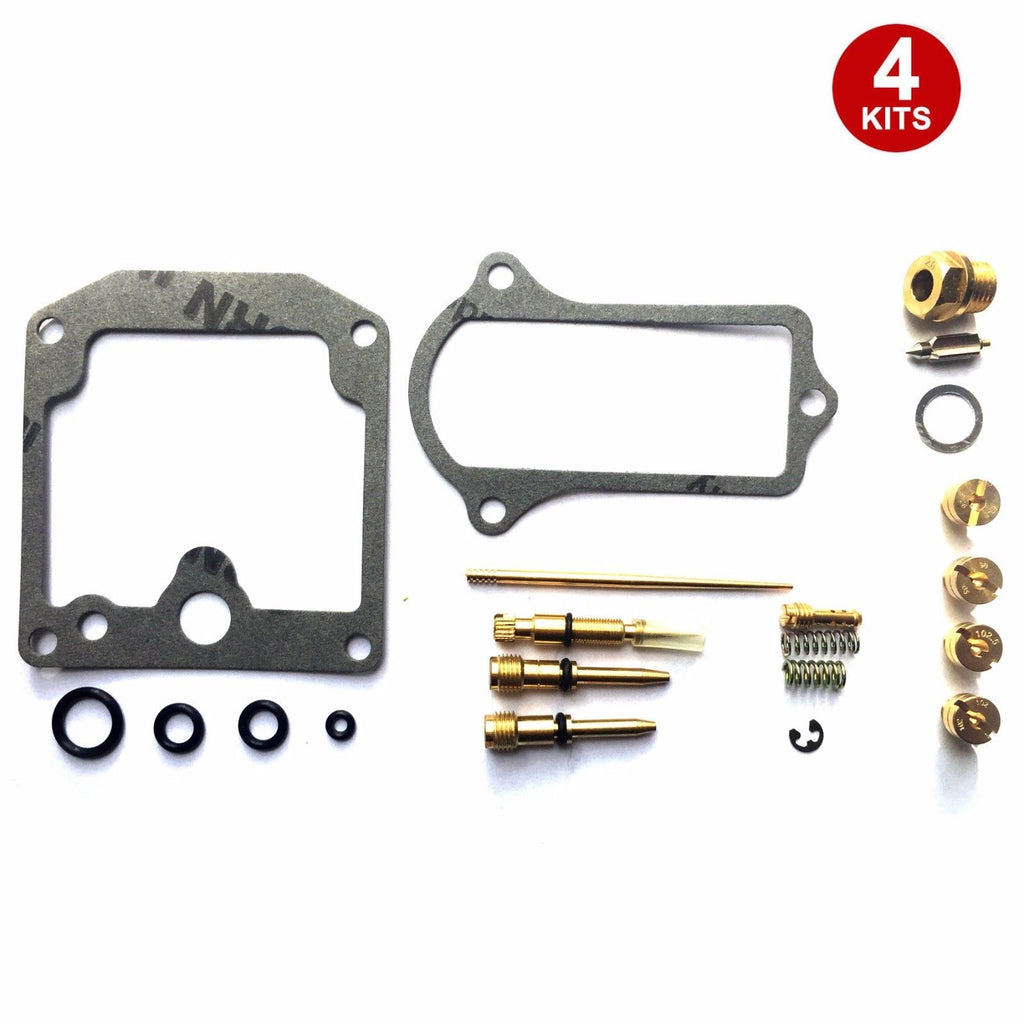 4x Carburetor Carb Repair Rebuild Kits Kawasaki KZ650 KZ650C