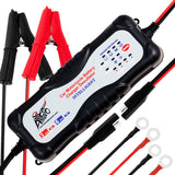 7 Stage 12v Automatic Motorcycle Car Truck Vehicles ATV Moto Smart Battery Charger Tender Maintainer - thealphpmoto
