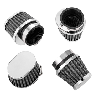 ALPHA MOTO set of four 54mm Oval Air Filter POD Filters Honda CB 750 C F K 79-82