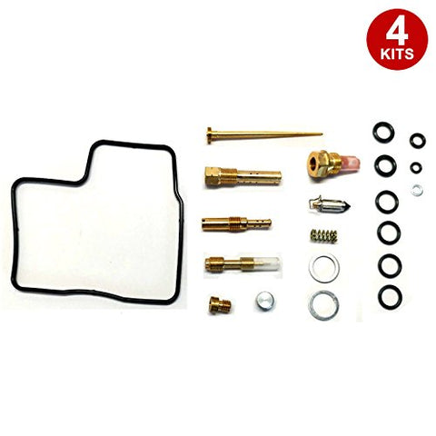 4X Carburetor Carb Repair Rebuild Kits Honda GL1200 1984-1987 - thealphpmoto