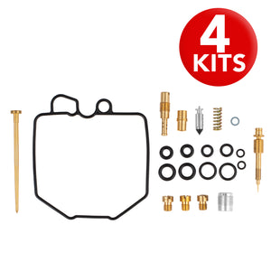 4x Honda Cb750 C Custom K Carb Rebuild Repair Kits 1980-1981 - thealphpmoto