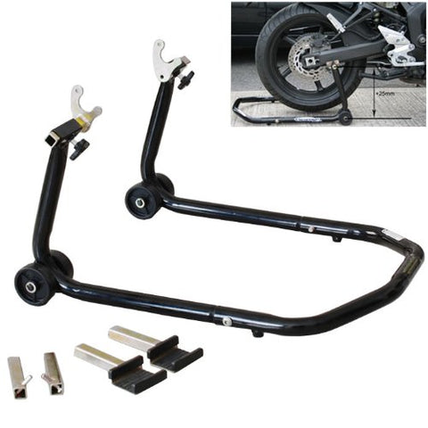 Multiple Purpose All In One Front Or Rear Motorcycle Lift Stand Swingarm Spool Paddle Lift - thealphpmoto