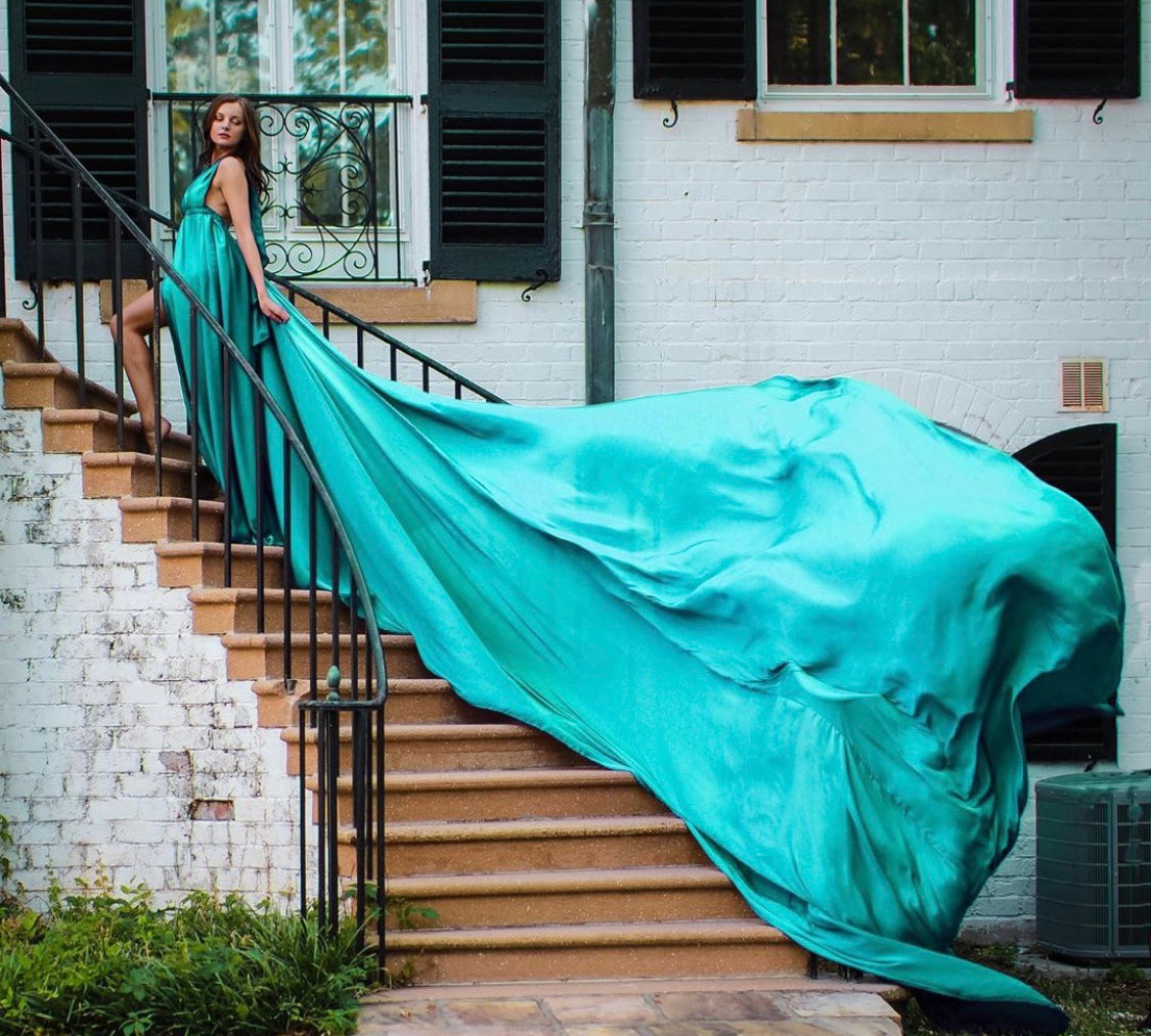 PLUS SIZE flying dress/birthday photoshoot/life event/life miles/dress for photoshoot/wedding/birthday/beach photoshoot