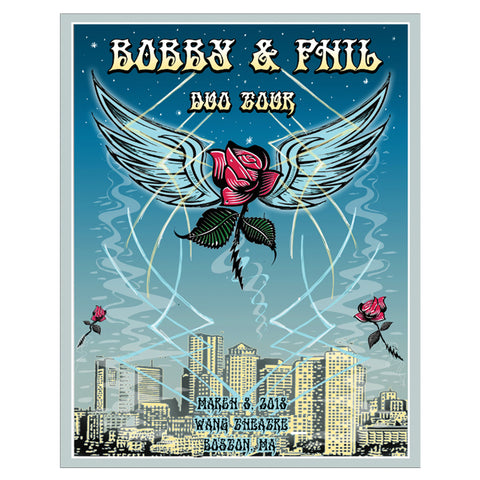 Boston March 7th Event Poster-Bob Weir