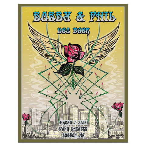 Boston March 8th Event Poster-Bob Weir