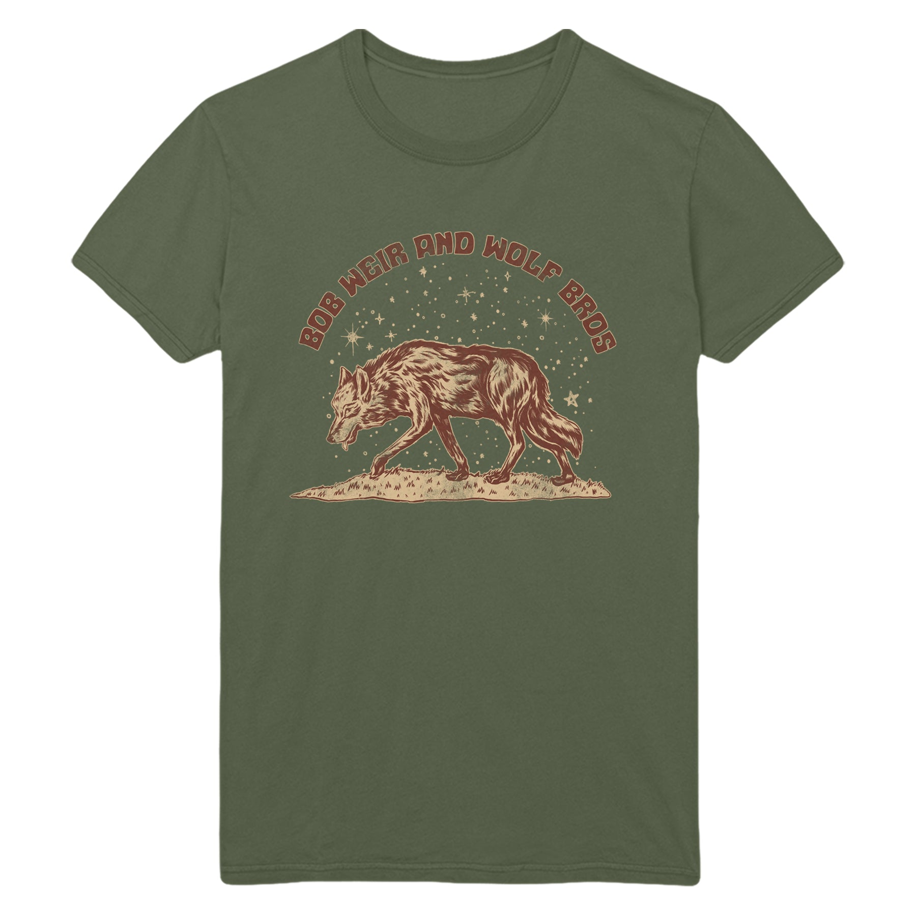 Bob Weir & Wolf Brothers Lone Wolf Spring Tour 2020 Tee