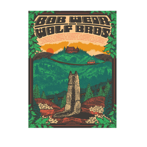 Bob Weir & Wolf Brothers Spring Tour Poster