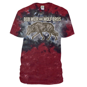 Bob Weir and Wolf Bros. Tie Dye Tee-Bob Weir