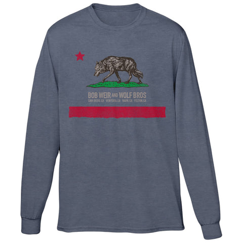 Bob Weir & Wolf Brothers California Event Long Sleeve Tee