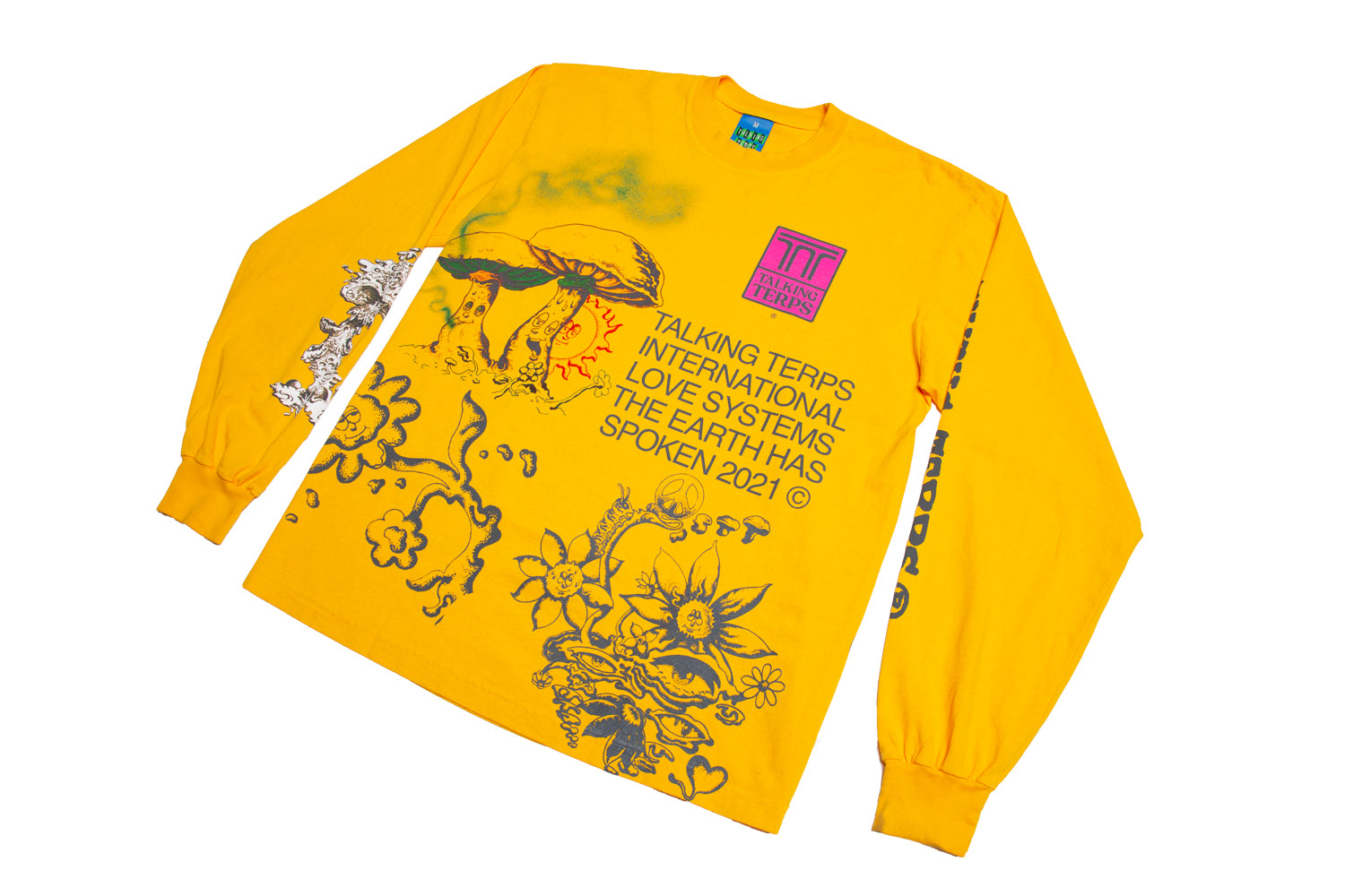 The Earth Has Spoken V.2 Longsleeve