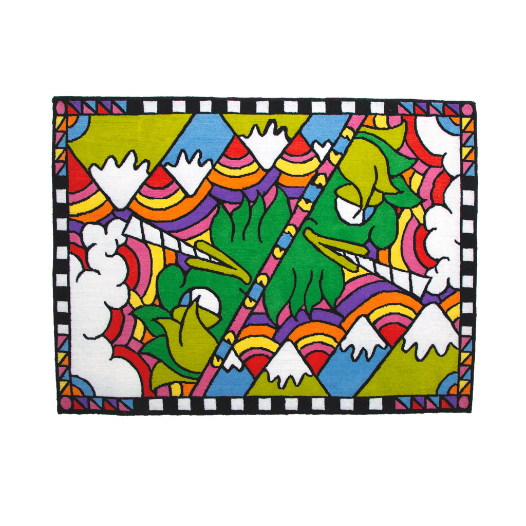 Terp Paradise Hand Woven Wool Rug