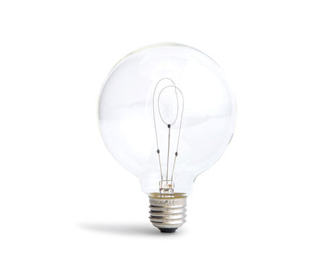 Carbon Filament Light Bulb - Globe 'K-95'