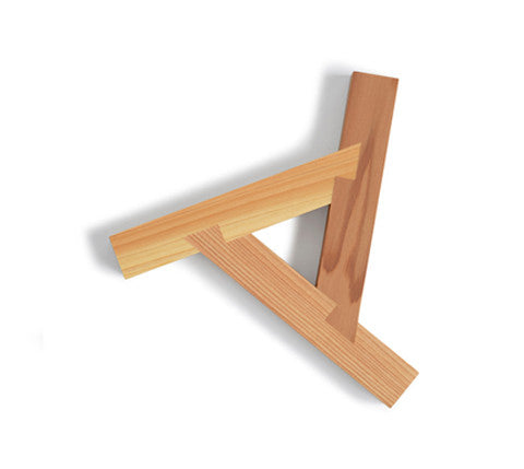 Three Wood Trivet