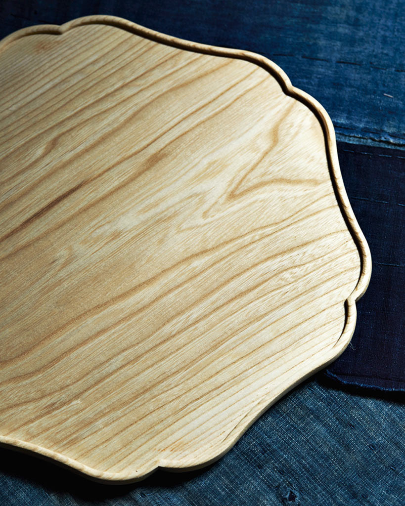 - Bon Wood Tray - 'Rinka' (OUT OF STOCK)