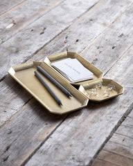 Futagami Brass Stationary Tray - Medium