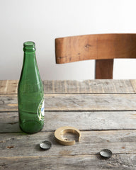 Futagami Brass Bottle Opener - Crescent Moon