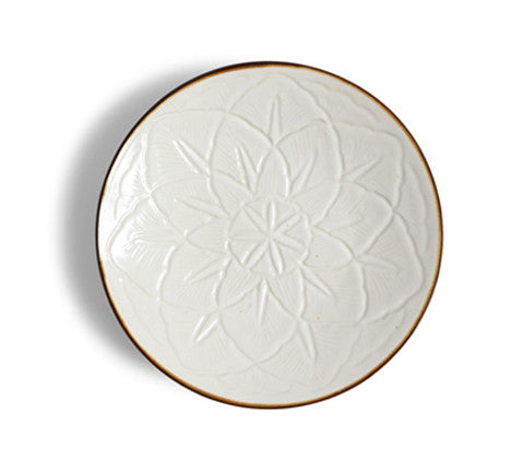 Curved Flower Plate - Large