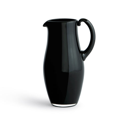 Black Glass Jug