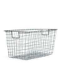 Fog Linen Work Mesh Wire Basket - Large