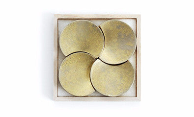 Brass Chopstick Rests - Four Moon