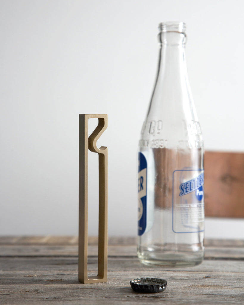 Futagami Brass Bottle Opener - Frame