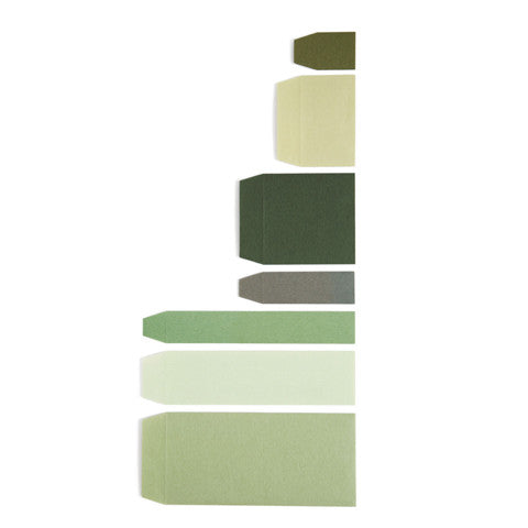 Washi Paper Envelopes - Midori (Green) (OUT OF STOCK)