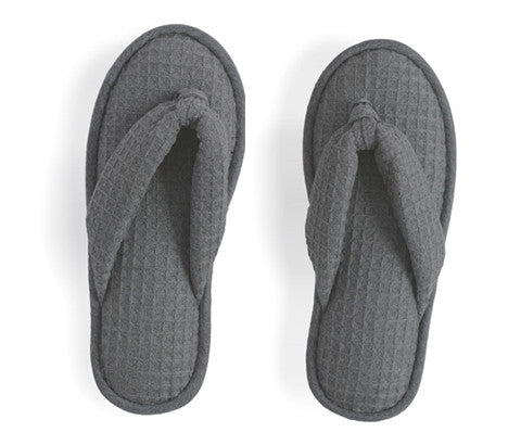 Charcoal Waffle Slippers (OUT OF STOCK)
