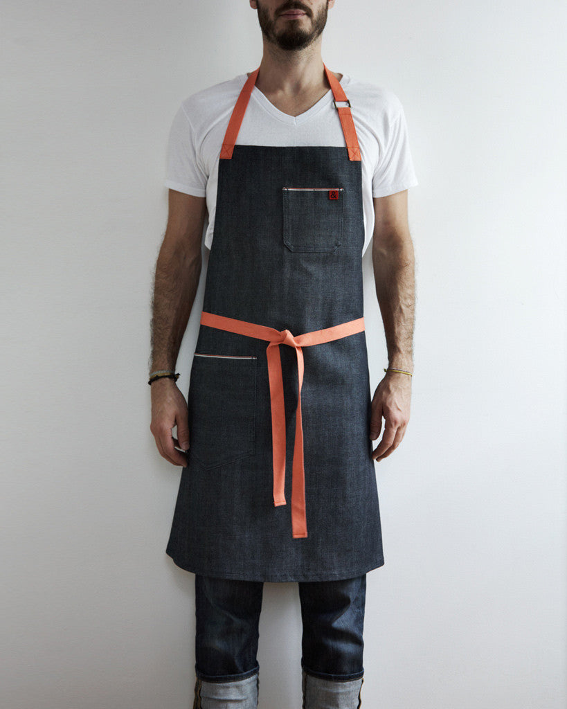 Hedley and Bennett Denim Apron - Nalata Nalata Exclusive (OUT OF STOCK)